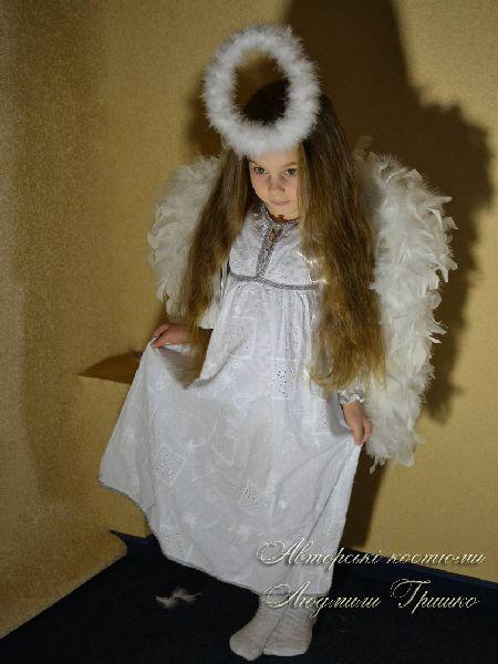 авторский костюм ангелочка для девочки фото