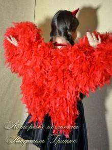 фото крыльев в костюме чертика с крыльями