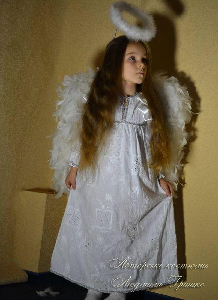 костюм ангелочка для девочки фото
