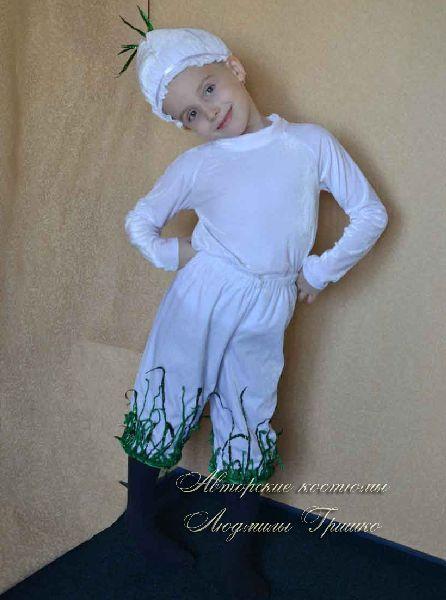 костюм чеснока на праздник осени фото