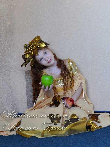 карнавальный костюм осень золотая фото