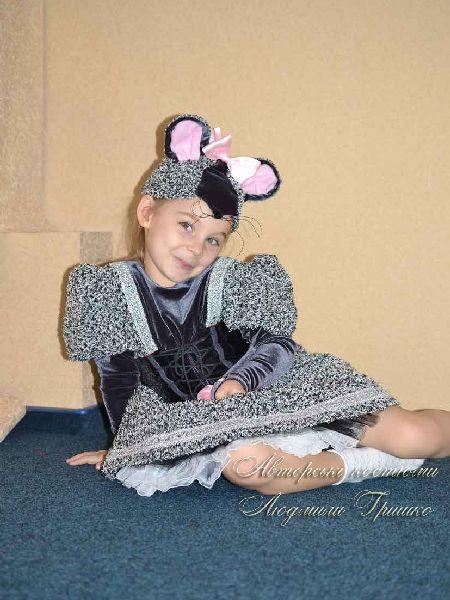 фото костюма для девочки - мышка