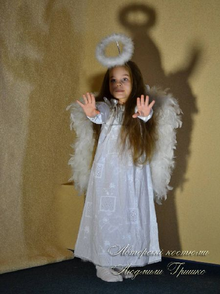 детский костюм ангелочка фото