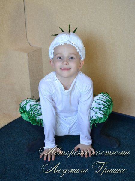 карнавальный костюм чеснока фото