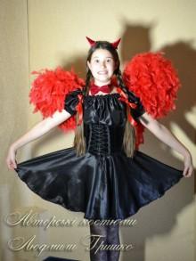 фото костюм чертенка с крыльями высота 70 см