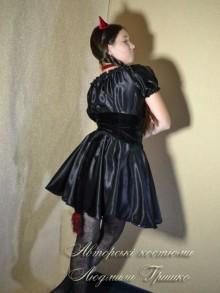 костюм чертика для девочки фото хвоста крупным планом