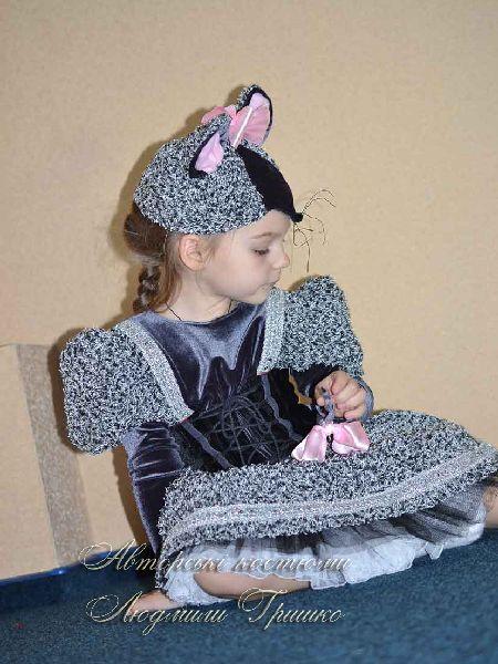 костюм мышка для девочки фото