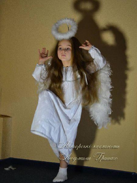 костюм ангелочка для маленькой девочки фото