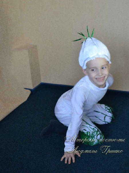 костюм чеснока фото детского костюма