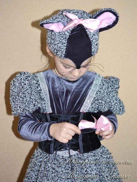 детский костюм мышка фото