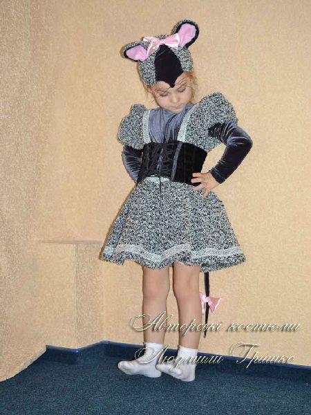 костюм мышка фото в полу-корсете