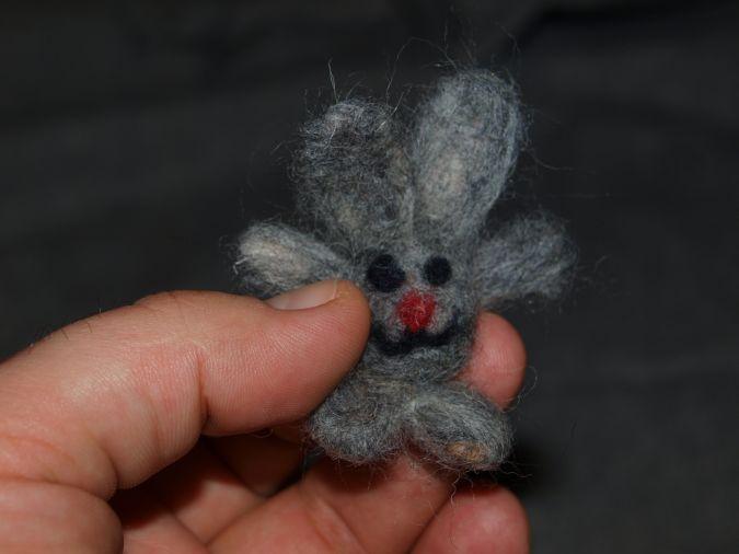 валяная миниатюра для брелока фото