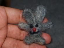 валяная миниатюра для брелока фото 1