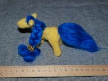 лошадка - игрушка, ручное валяние