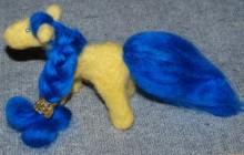 лошадка - игрушка, ручное валяние фото 1