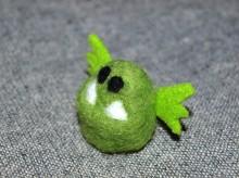 монстрик - валяная игрушка ручной работы фото 2