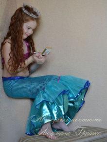 морская история фото детского костюма русалочки