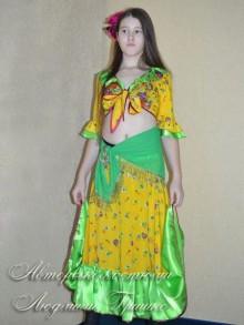 костюм цыганки для девочки фото