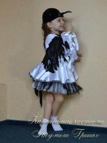 костюм сороки для девочки фото карнавального наряда