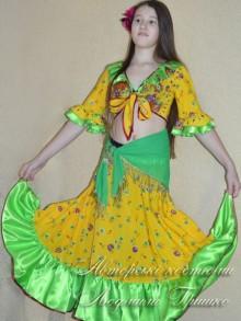 карнавальный костюм цыганки для девочки фото