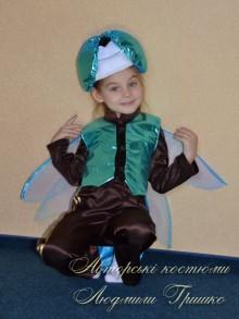 фото карнавальный костюм стрекозы из атласа и парчи