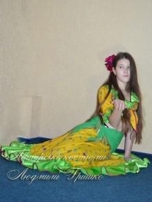 карнавальный цыганский костюм для девочки фото