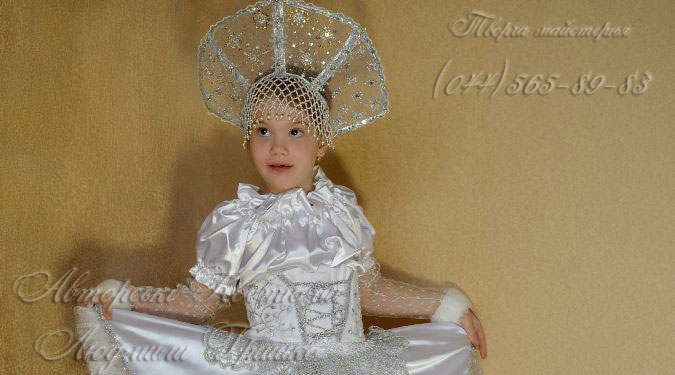 Фото костюма снежинки детского
