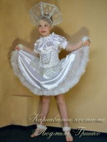 фото детский костюм снежинки для девочки