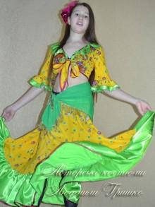 костюм цыганки фото карнавального костюма