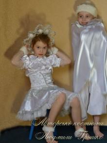 фото костюм снежинка для девочки