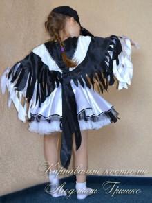 костюм сороки для девочки фото хвост крупным планом