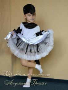 костюм сороки для девочки фото нижней юбки с перьями