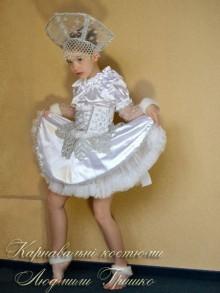 фото карнавальный костюм снежинки