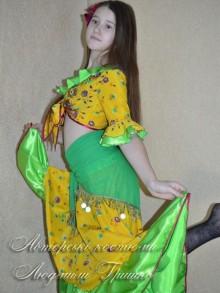 костюм цыганки фото с платком