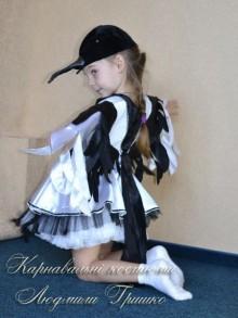 костюм сороки для девочки фото вид сбоку