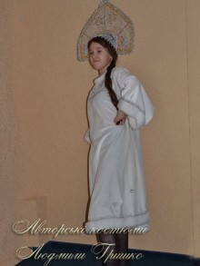 костюм снегурочки белый фото новогоднего костюма