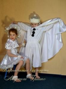 фото маскарадных костюмов Снежный Страж и Снежинка
