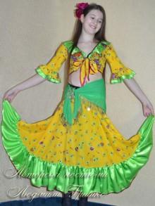 авторский костюм цыганки фото