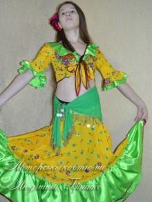народный костюм цыганки фото
