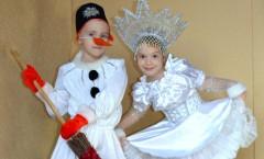 Про новорічні костюми напередодні свят фото дитячих костюмів