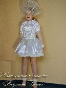 костюм снежинки детский фото