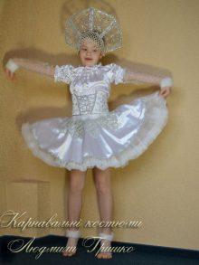 фото новогодний детский костюм снежинки