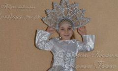 костюм снежинки для маленьких девочек фото