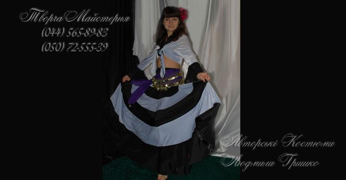 цыганский костюм карнавальный женский фото