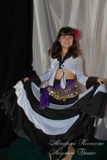 женский цыганский костюм фото
