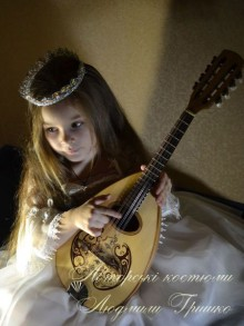 фото костюм принцессы для ребенка