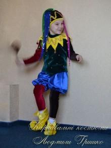 фото карнавального костюма шут