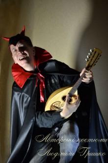 фото костюм люцифера мужской на Хеллоуин