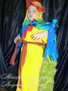 фото костюм петушка авторский карнавальный детский