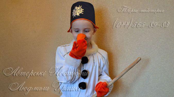 фото костюма снеговика для мальчика